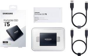 Eksterni hard disk SAMSUNG SSD T5 1TB USB 3.1 Crni