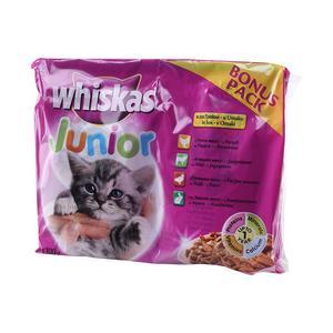 Whiskas pouch jun.bonus pk 4x100g