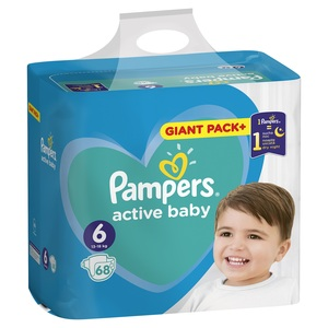 Pampers pelene gp plus extra large (68 kom)