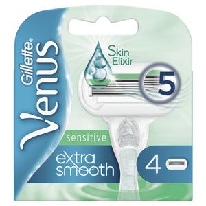 Gillette britvica Venus Smooth Sensitive  SMOOTH  SENSITIVE  +  4 patrona