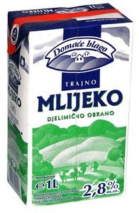 Domaće blago trajno mlijeko 2,8%