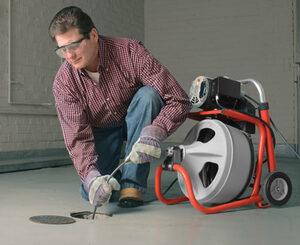 RIDGID Uređaj za čišćenje cijevi K-400 AF sa C-45 IW