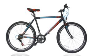 MTB bicikl ULTRA BIKE STORM BLK MATT 480MM 26'' 2019