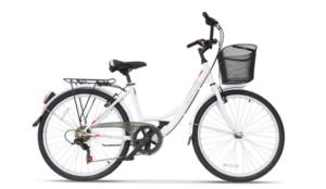 Gradski bicikl ULTRA BIKE TONUS WHITE 2020 460MM 26''