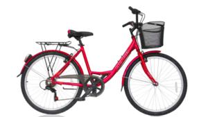 Gradski bicikl ULTRA BIKE TONUS PINK MATT 2020 460MM 26''