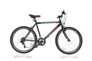 MTB bicikl ULTRA BIKE STORM BLK/MATT 26'' 440MM