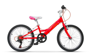 Dječje biciklo ULTRA BIKE LARISA RED 6BRZ 20''