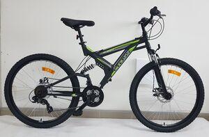 """MTB bicikl CROSS NOMAD 2DB BLACK/GREEN 26"""""""