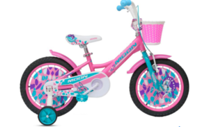 Dječje biciklo MOON FLORY 16'' ROZI