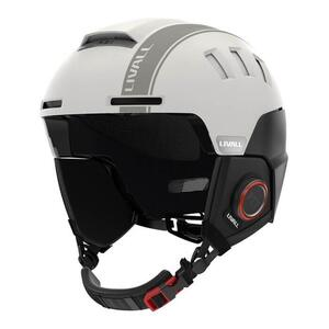 Livall Ski RS1 smart kaciga White L