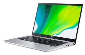 Laptop Acer Swift 1 Silver NX.HYSEX.00G, 14 FHD IPS, Intel Pentium Silver N5030, 8GB RAM, 256GB PCIe NVMe SSD, Intel UHD Graphics 605