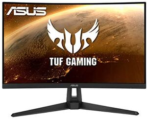 Monitor ASUS TUF VG27VH1B, Gaming, FULL HD 1920x1080, 27 VA, 250 cd/m2, AMD FreeSync, HDMI, VGA, 165Hz, 1ms