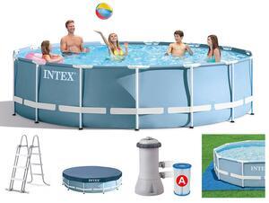 Intex bazen sa metalnom konstrukcijom 457x107 cm sa pumpom