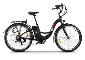 Električni bicikl RKS MB6 BLACK