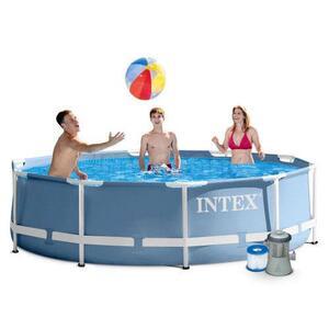 Intex bazen sa metalnom konstrukcijom 3,66x0,76 m sa pumpom