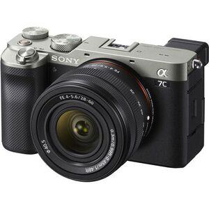Sony Alpha a7C Fotoaparat sa FE 28-60 mm f / 4-6,3, Srebreni