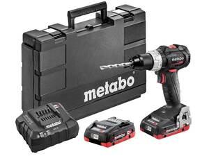 METABO akumulatorska udarna bušilica SB 18 LT BL SE, 2 x 4,0 + punjač + kofer, BRUSHLESS motor