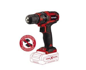 Einhell Power X-Change Aku bušilica TC-CD 18/35 Li  i Starter Kit 4,0 Ah