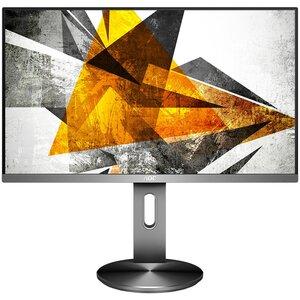 Monitor AOC I2790PQU/BT, FULL HD 1920x1080, 27 IPS, 250 cd/m2, D-Sub, HDMI, DP, USB 3.0, Zvučnici, VESA, Siva, 60Hz, 4ms, 3 godine garancije