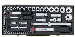 Proxxon garnitura nasadnih ključeva 1/4''+ 1/2''  4-32 mm/ 55 kom.