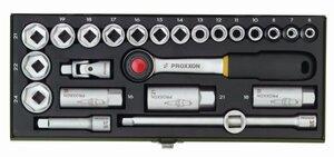 Proxxon garnitura nasadnih ključeva 3/8'' 6-24 mm/ 24 kom.