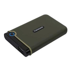 Eksterni hard disk TRANSCEND 1TB StoreJet 25M3 Rugged Vojno/Zeleni