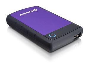 Eksterni hard disk TRANSCEND 2TB StoreJet 25H3P USB 3.1 Ljubičasti