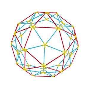 Hape Toys fleksibilni štapići - geometrijski oblici