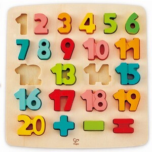 Hape Puzzle za učenje brojeva i matematike