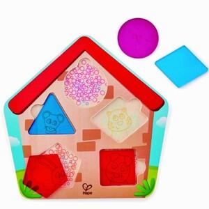 Hape Puzzle Ko je u kući?