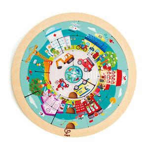Hape puzzle okrugle, dvostrane