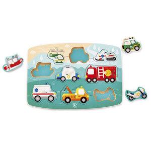 Hape puzzle vozila