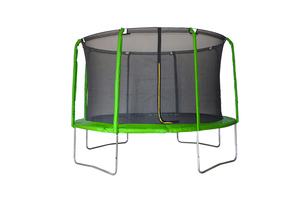 LEGONI trampolin AERO sa zaštitnom mrežom i ljestvama, 366cm- zeleni