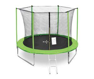 LEGONI trampolin FUN sa zaštitnom mrežom i ljestvama, 305cm-zeleni