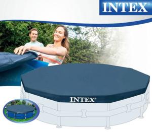 Intex prekrivač za bazen sa metalnom konstrukcijom 305x25cm