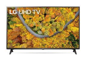 LG LED televizor 55UP75003LF, 4K Ultra HD, webOS Smart TV, Crni