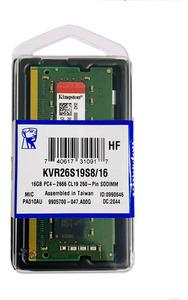 Memorija Kingston SO-DIMM DDR4 16GB 2666MHz ValueRAM KIN