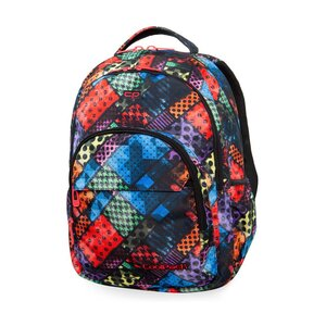 CoolPack ruksak školski 2 zipa Basic Blox art.B03014