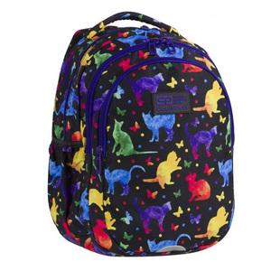 "CoolPack ruksak 3 zipa Joy 15"" Cats ultra-light art.84828"