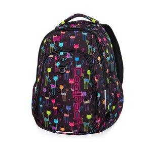 CoolPack ruksak školski 2 zipa Cats art.B17046