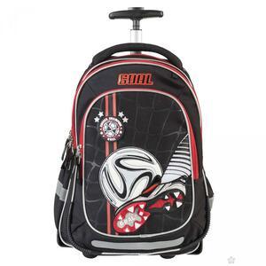 Target ruksak školski Football Black na tockice art.17877 D