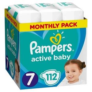 Pampers pelene Active Baby S7 MSB 112kom