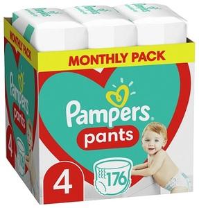 Pampers pelene gaćice Pants S4 MSB 176kom