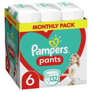 Pampers pelene gaćice Pants S6 MSB 132kom