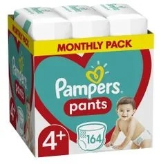 Pampers pelene gaćice Pants S4+ MSB 164kom