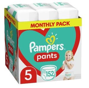 Pampers pelene gaćice Pants S5 MSB 152kom