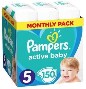 Pampers pelene Active Baby S5 MSB 150kom