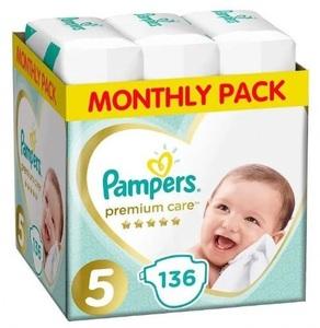 Pampers pelene Premium Care S5 MSB 136kom