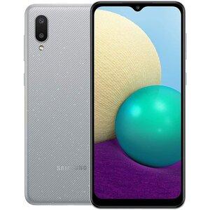 Samsung Galaxy A02 mobitel, 3/32 GB, Dual Sim,  SM-A022, sivi