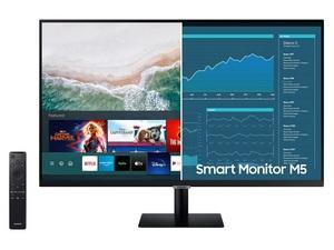 Monitor Samsung LS27AM500NRXEN, SMART, FULL HD 1920x1080, 27 VA, 250 cd/m2, Game mode, HDMI, USB, Zvučnici, Daljinski upravljač, 60Hz, 8ms